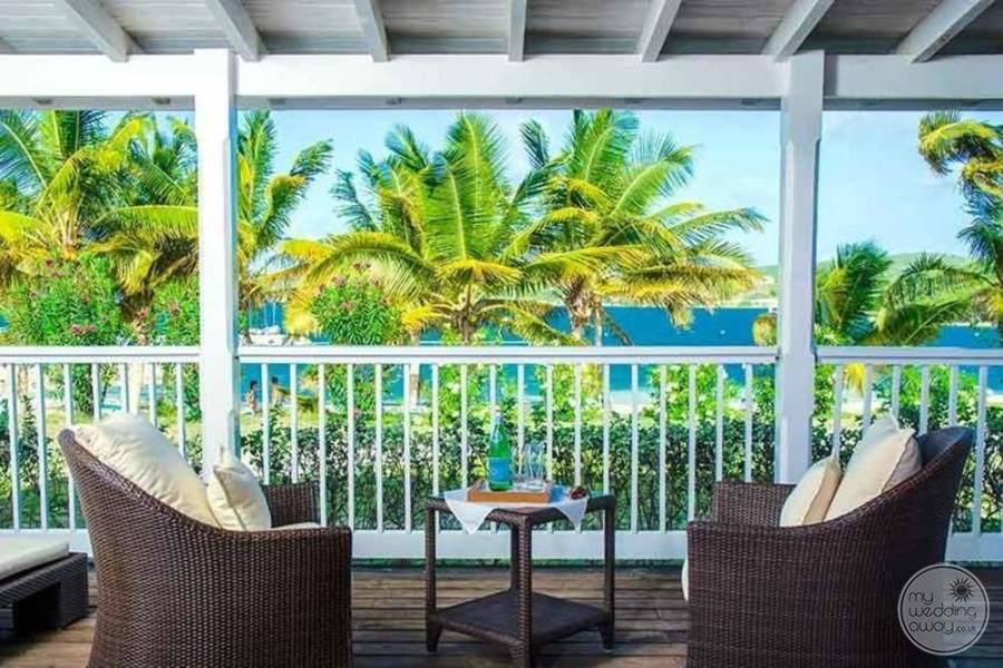 Nonsuch Bay Resort Antigua Balcony View