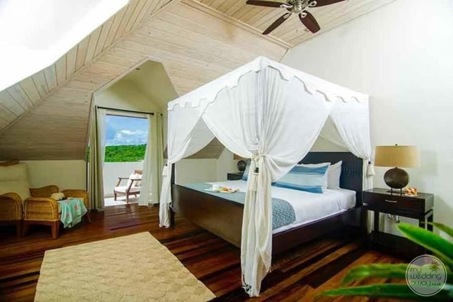 Nonsuch Bay Resort Antigua Canopy Bed