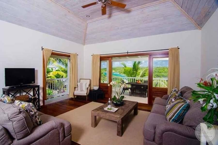 Nonsuch Bay Resort Antigua Living Area