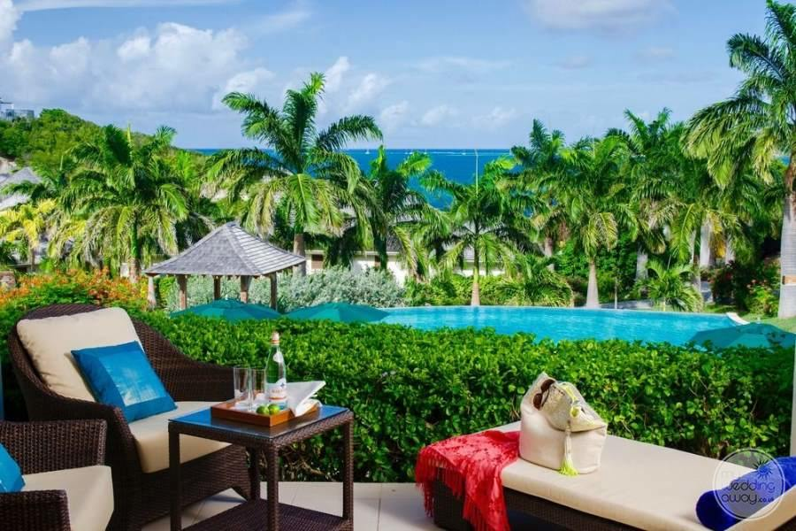 Nonsuch Bay Resort Antigua Patio View