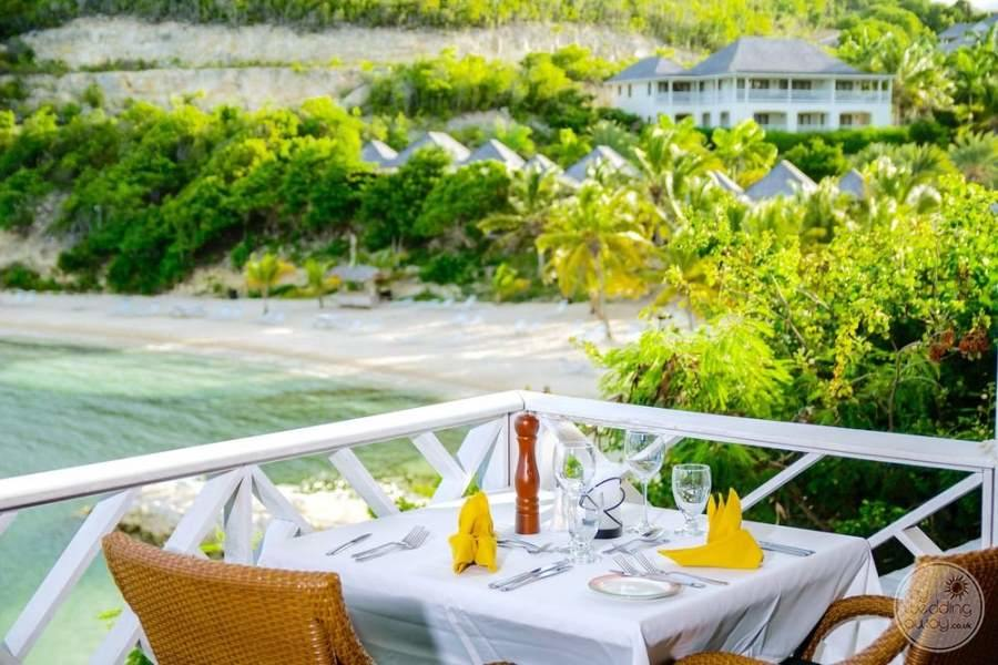 Nonsuch Bay Resort Antigua Terrace Dining