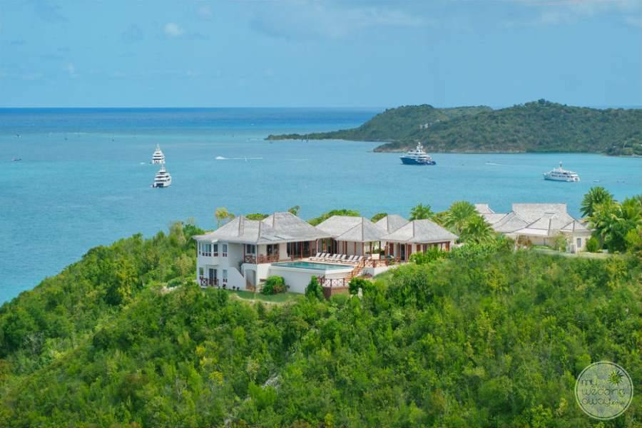 Pineapple Beach Club Antigua View from Above