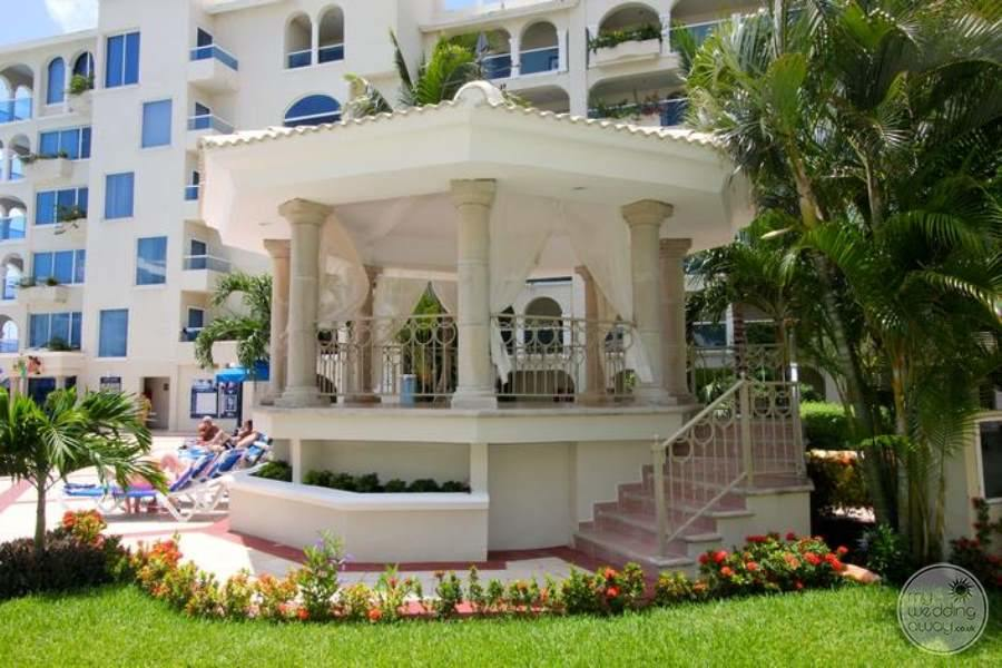 Occidental Costa Cancun Beautiful Wedding Gazebo
