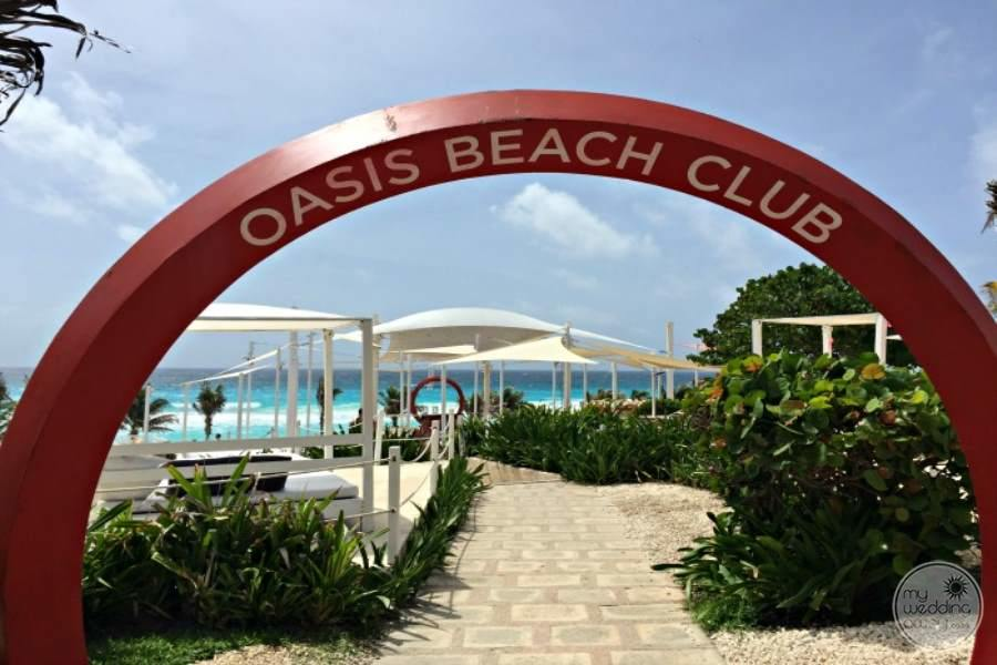 Occidental Grand Oasis to Beach