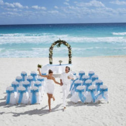 Occidental Tucancun Beach Destination Wedding