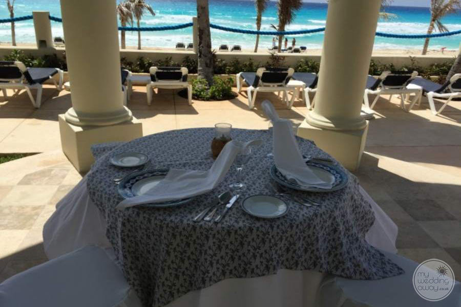 Occidental Tucancun Gazebo Dining