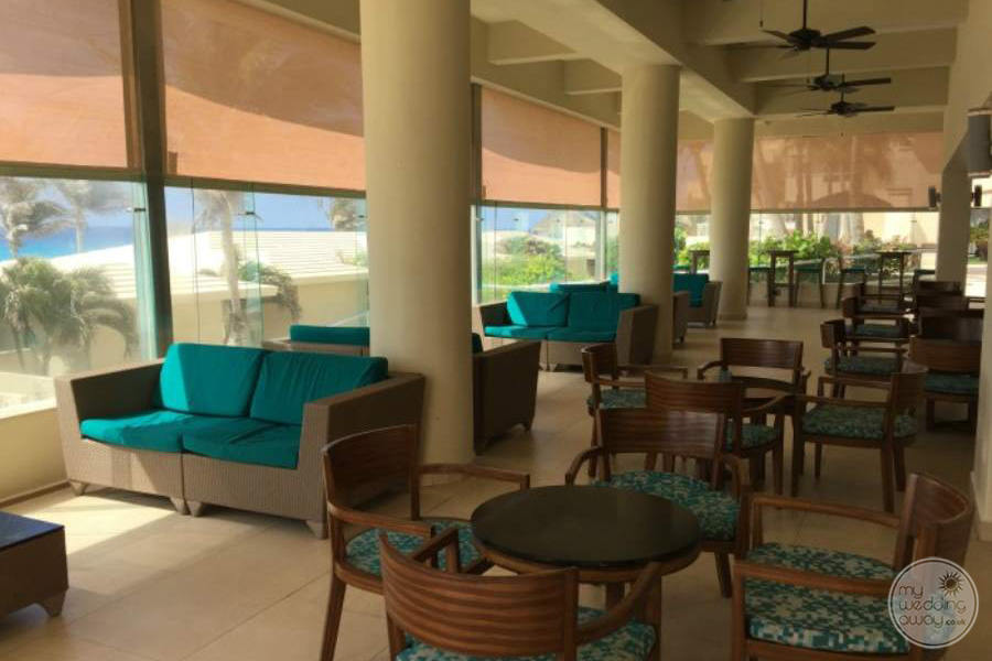 Occidental Tucancun Lounge Area