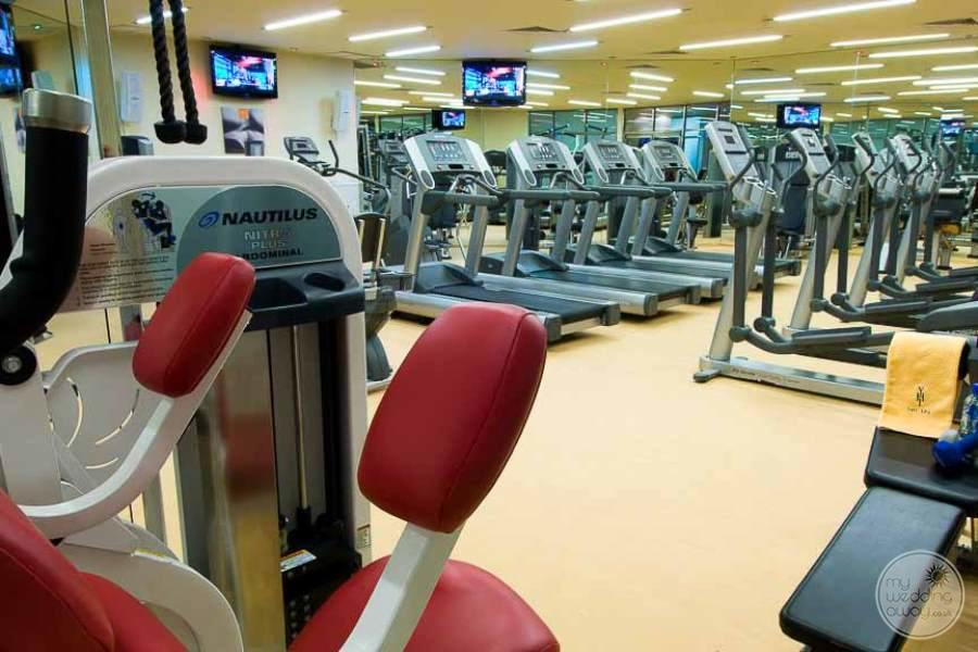 Paradisus Cancun Fitness Equipment