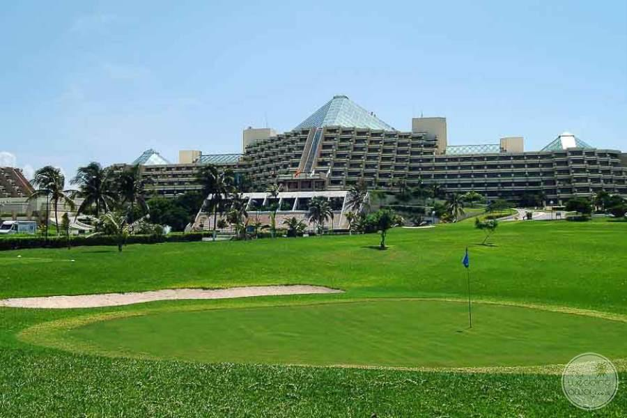 Paradisus Cancun View from Golf Course