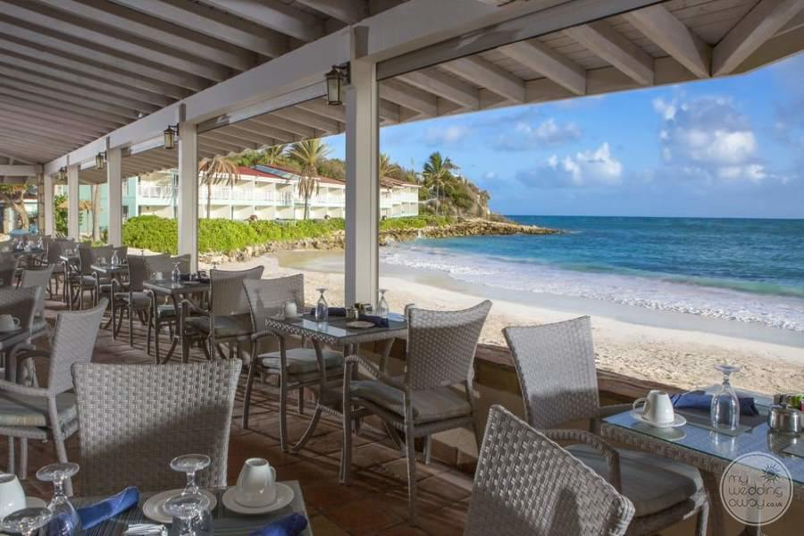 Pineapple Beach Club Antigua Covered Dining