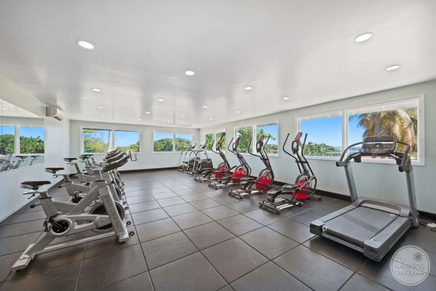 Pineapple Beach Club Antigua Fitness Area