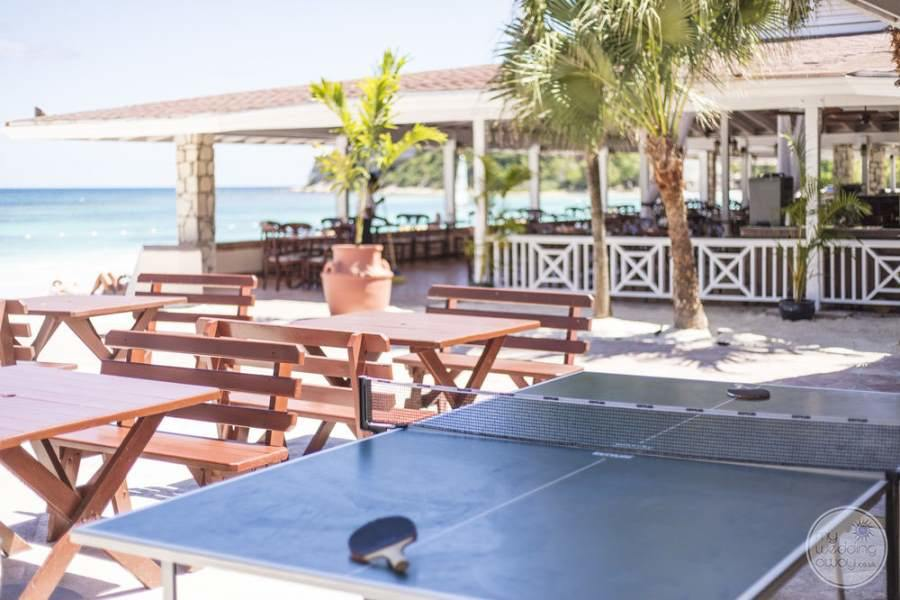 Pineapple Beach Club Antigua Ping Pong