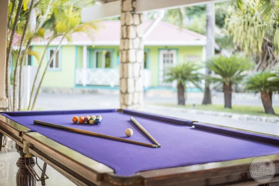 Pineapple Beach Club Antigua Pool Table