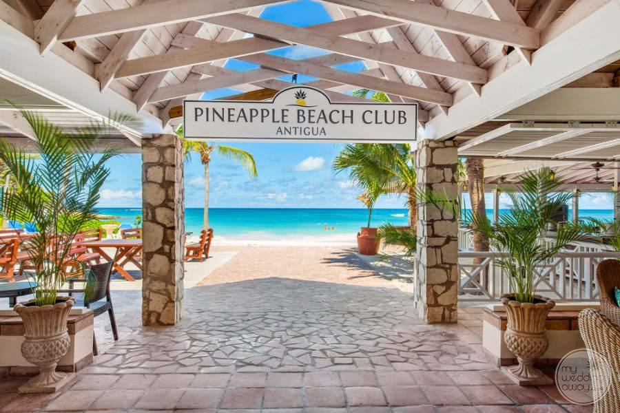 Pineapple Beach Club Antigua To Beach