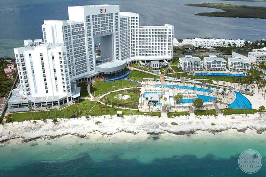Riu Palace Peninsula Cancun Resort View