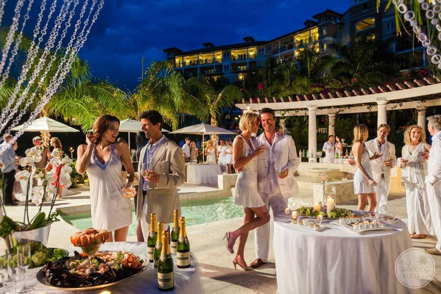 Sandals Grande Antigua Wedding Reception