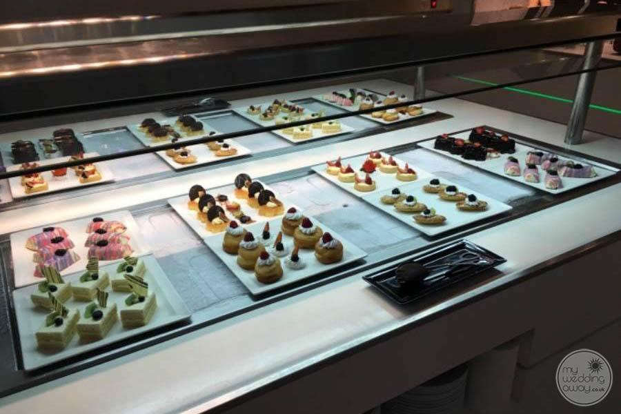 Sandos Cancun Desserts