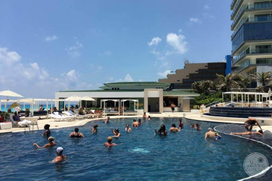 Sandos Cancun Lower Pool