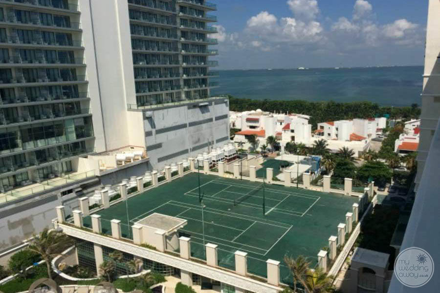 Sandos Cancun Tennis Courts