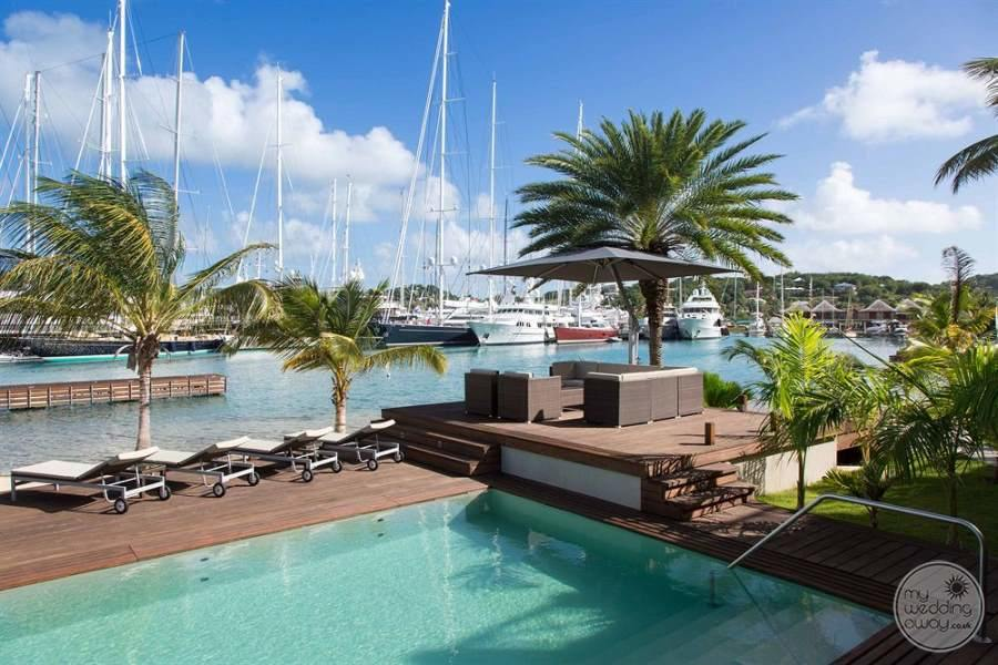 South Point Antigua Pool and Marina