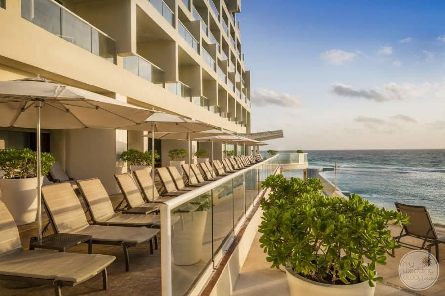 Sun Palace Cancun Balcony Lounge Chairs