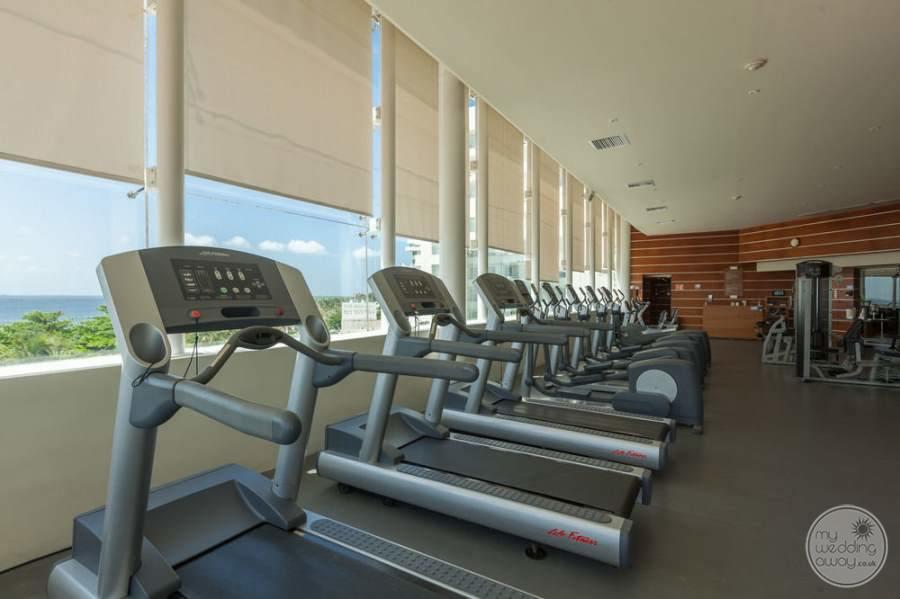 Sun Palace Cancun Fitness Area