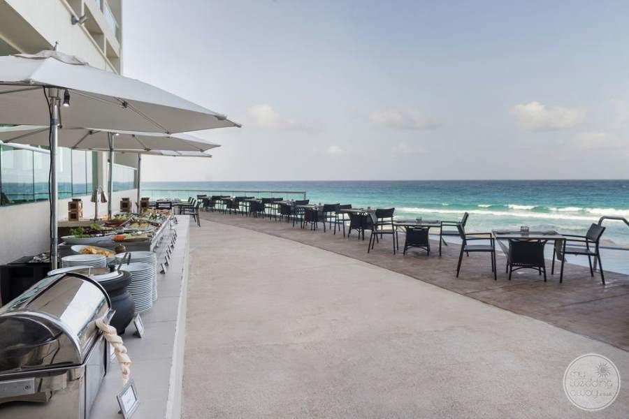Sun Palace Cancun Outdoor Buffet