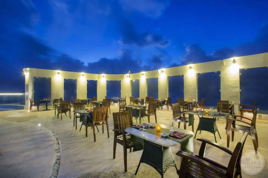 Sun Palace Cancun Oudoor Dining