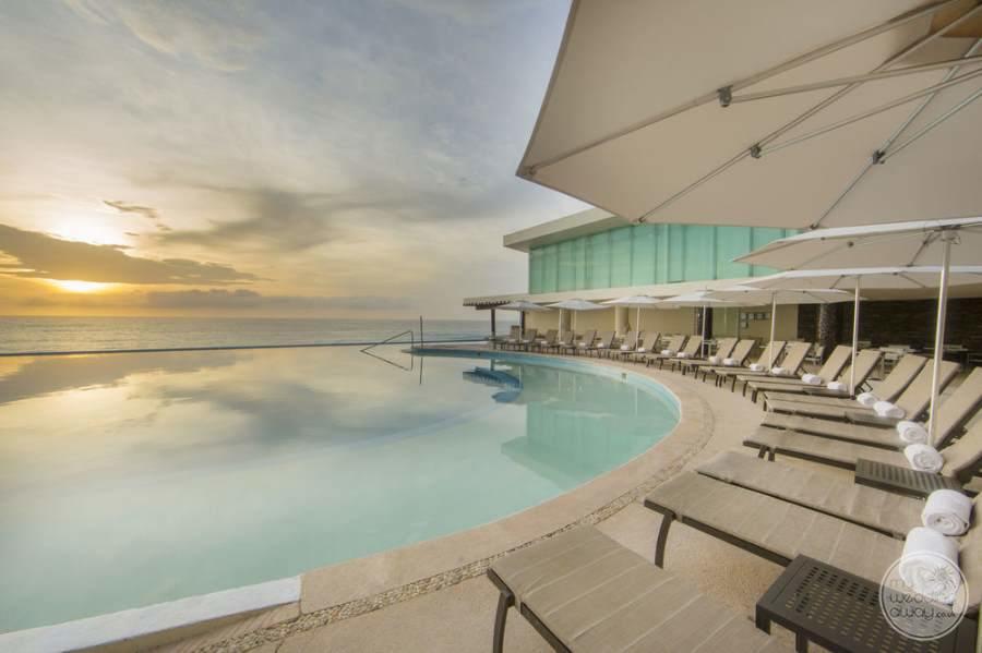 Sun Palace Cancun Pool and Lounge Chairs