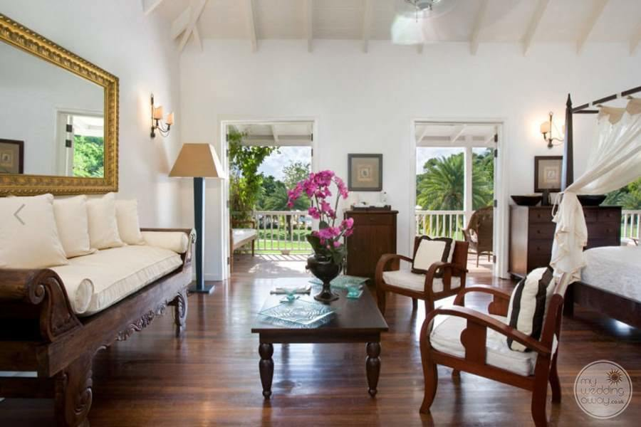 The Inn at English Harbour Antigua Room Seating