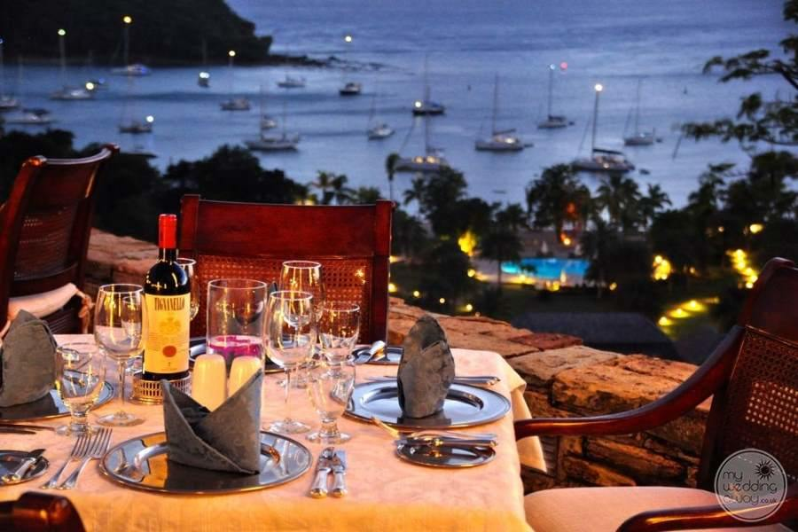 The Inn at English Harbour Antigua Terrace Dining