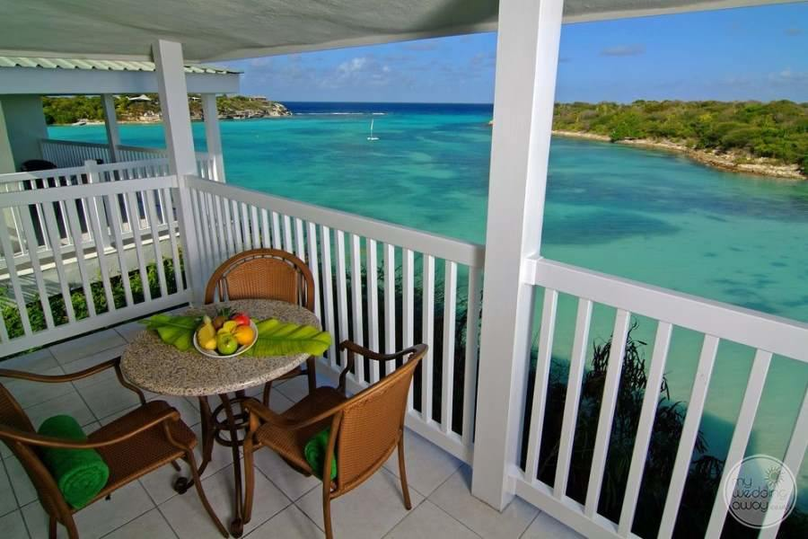 Verandah Resort Antigua Balcony Dining
