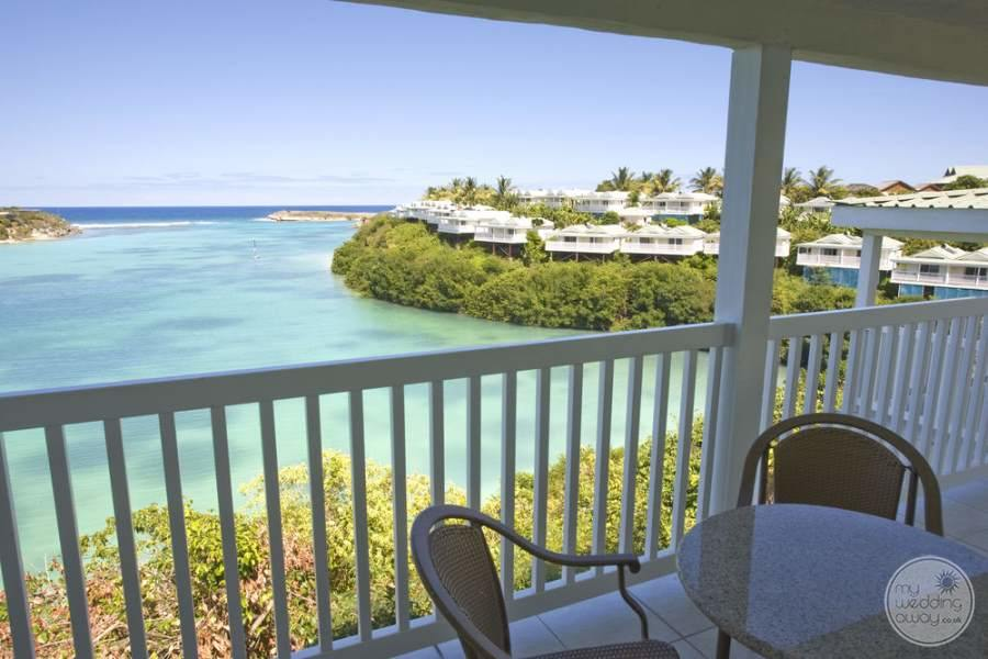 Verandah Resort Antigua Balcony View