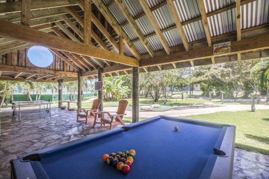 Verandah Resort Antigua Pool Table