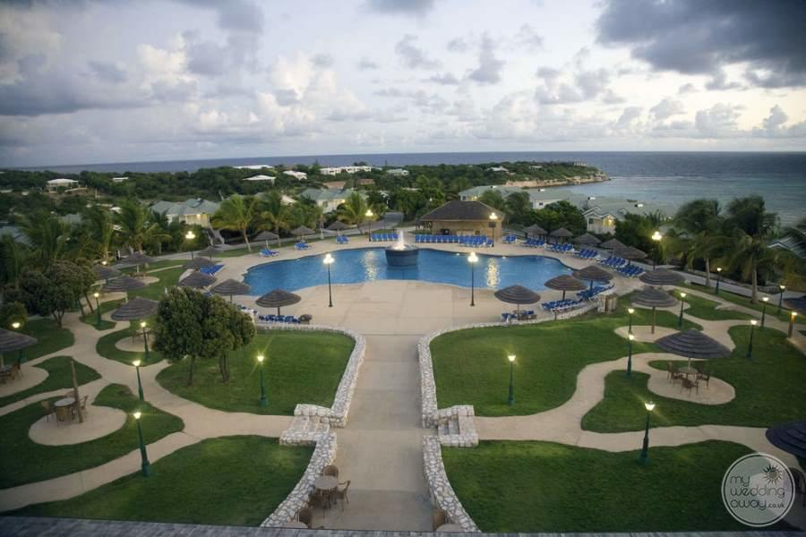 Verandah Resort Antigua from Above