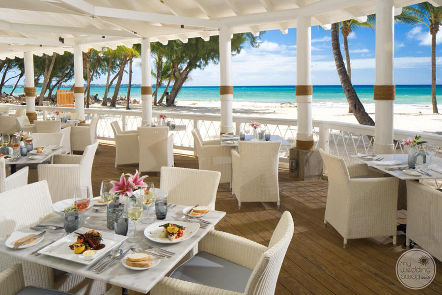 Sandals Barbados Beach Dining