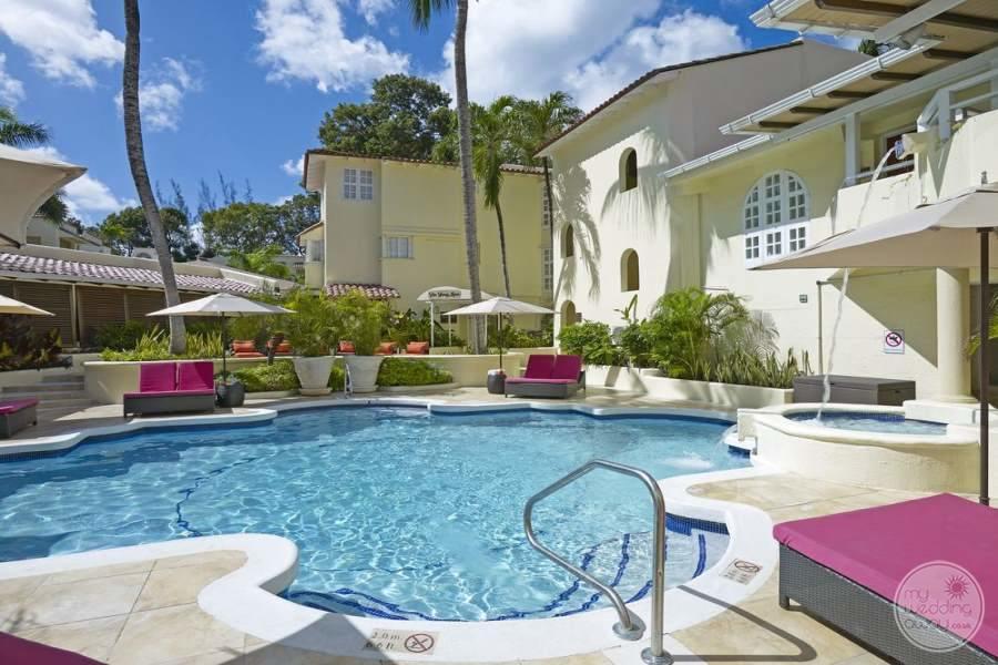 Tamarind Barbados Main Pool Area
