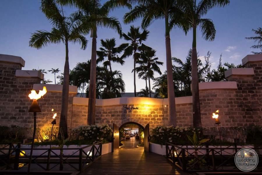 The House Barbados Entrance