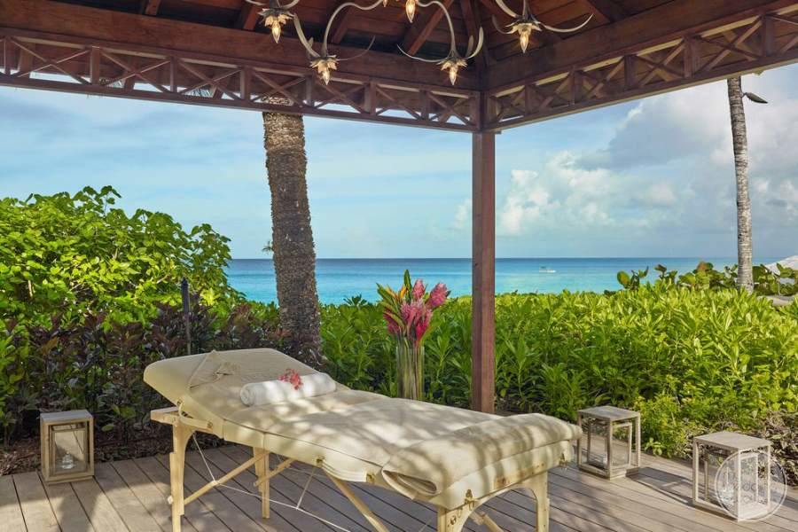 The House Barbados Outdoor Massage
