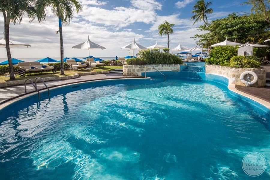The House Barbados Pool Area