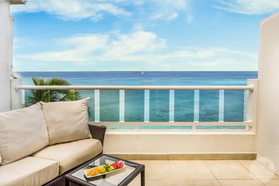 Waves Hotel Barbados Balcony Area