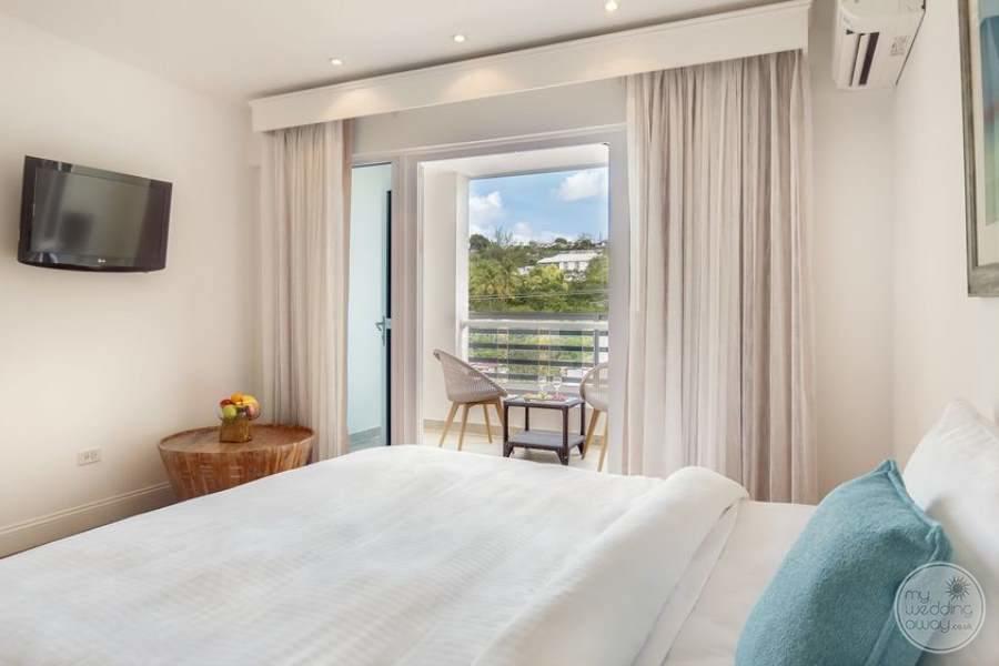 Waves Hotel Barbados Bright Room