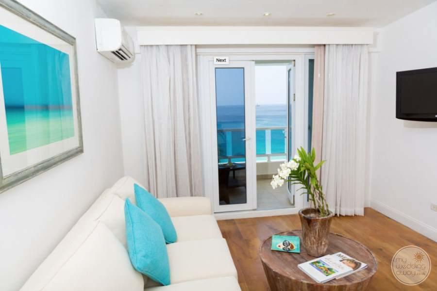 Waves Hotel Barbados Room Seating Ocean Views