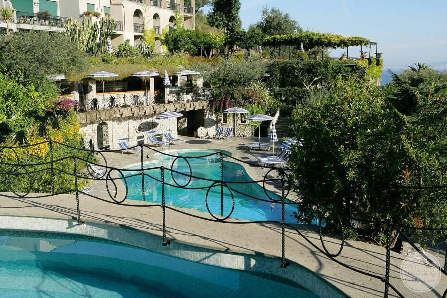Grand Hotel Capodimonte View from Pool