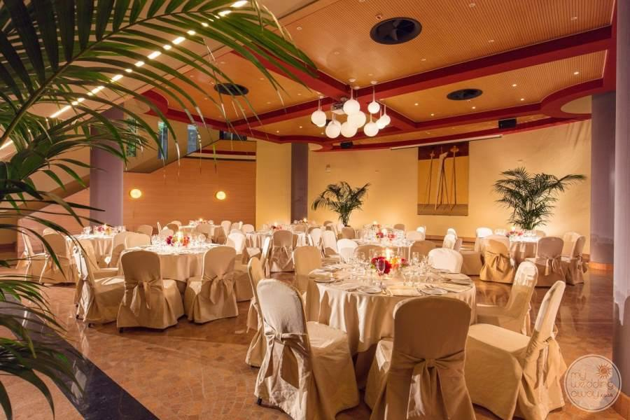 Grand Hotel Imperiale Evening Wedding Reception