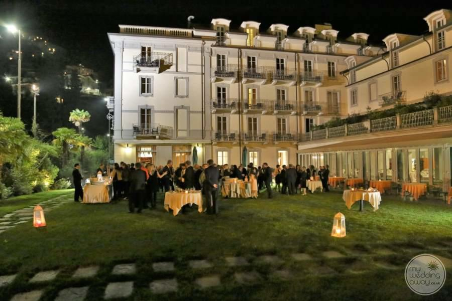 Grand Hotel Imperiale Garden Wedding Reception