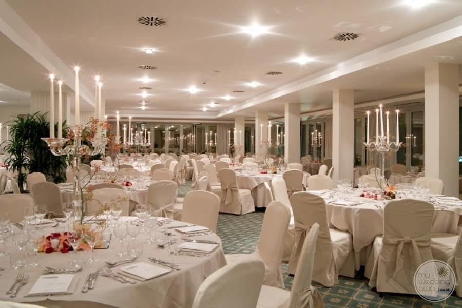Grand Hotel Imperiale Wedding Reception