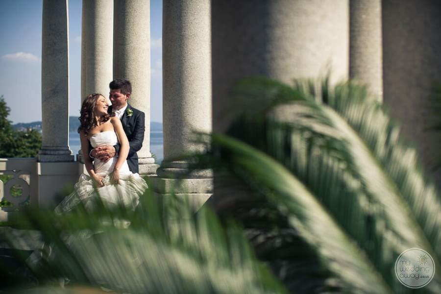 Grand Hotel Majestic Lake Maggiore Bride