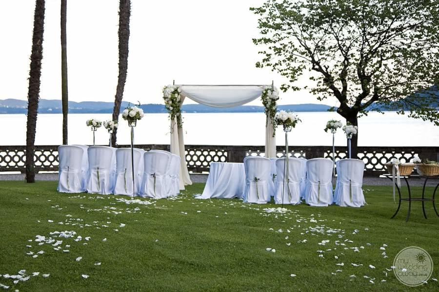Grand Hotel Majestic Lake Maggiore Garden Ceremony