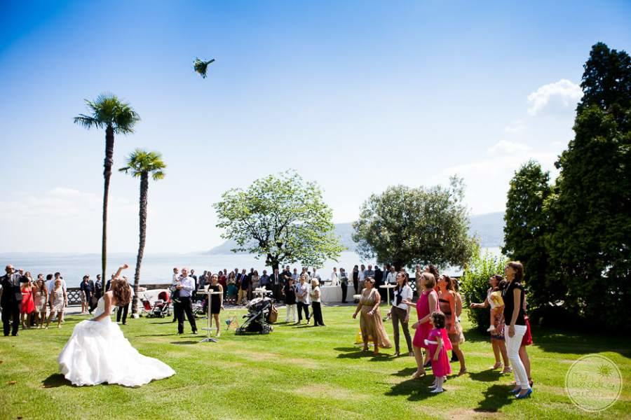 Grand Hotel Majestic Lake Maggiore Garden Wedding Reception